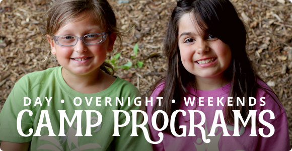 Day, overnight, and weekend camp programs.
