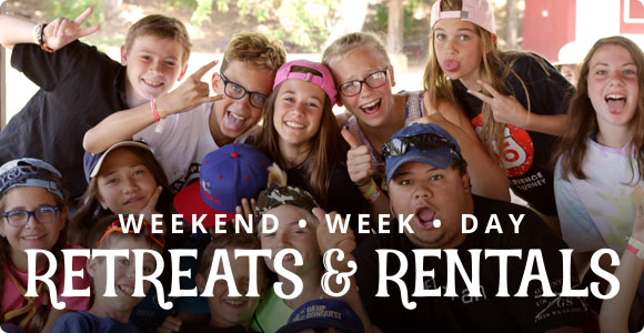 Weekend, week-long, and day retreats and rentals.