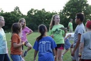 Teen camp ministry