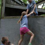 Kids having fun at camp.