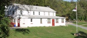 Hope lodge and dining hall.