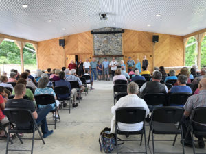 An event being held in the Kern Activity Center.